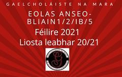 Eolas anseo-Bliain 1/2/IB/5