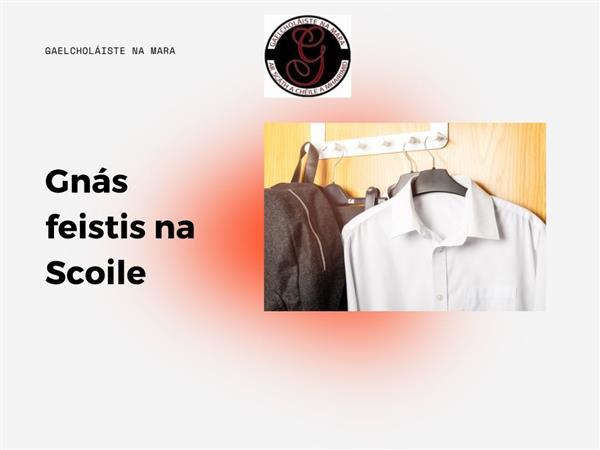 Gnás feistis na scoile-(Dress code)