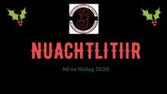 Nuachtlitir Míosúil - Nollag 2020 - Gaelcholáiste na Mara