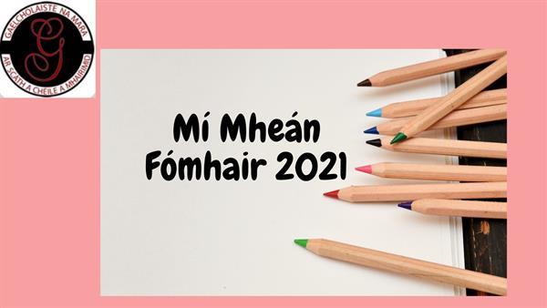 Nuacht is déanaí ó Ghaelcholáiste na Mara - Méan Fómhair 2021
