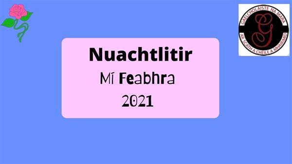 Nuachtlitir Míosúil: Feabhra 2021- Gaelcholáiste na Mara