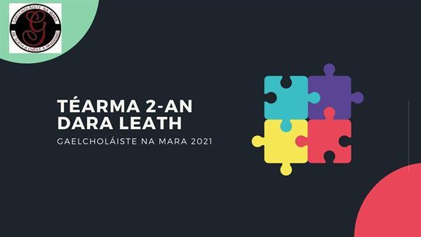 Téarma 2-An dara leath